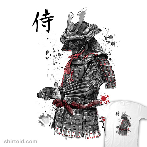 The Samurai Sumi-e