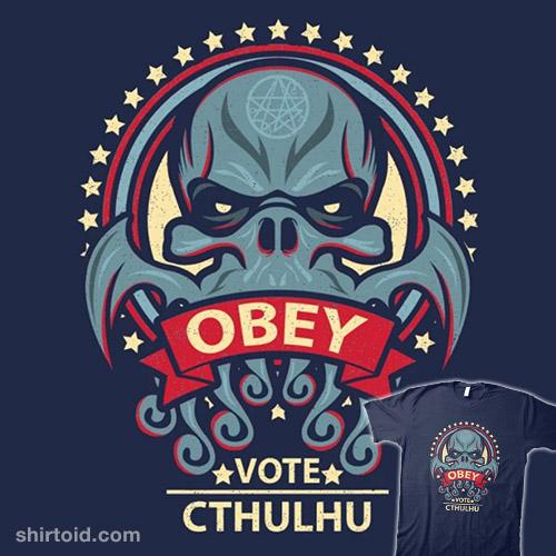 Vote Cthuhlu