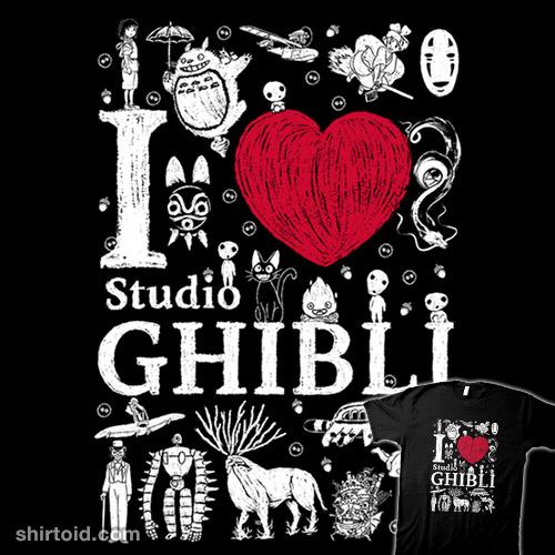 I Love Ghibli