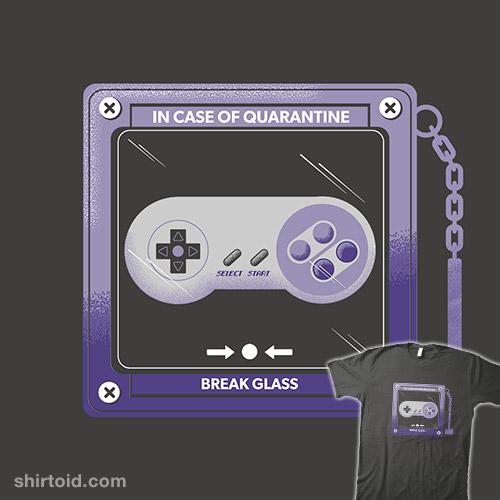 In Case of Quarantine, Bring the Controller