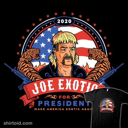 Make America Exotic Again