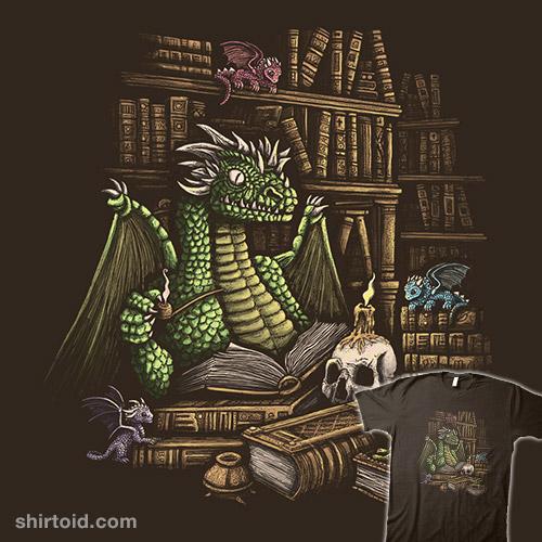 Mythical Book Wyrm