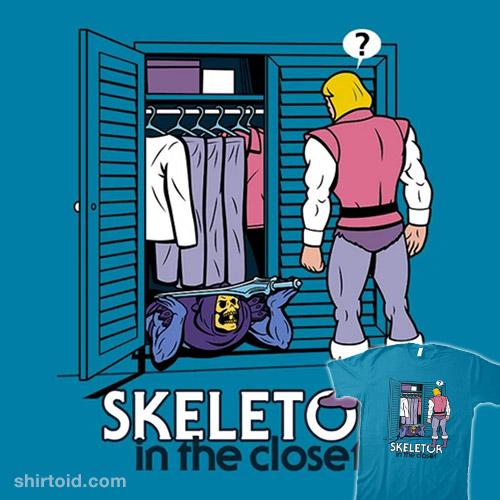 Skeletor in the Closet
