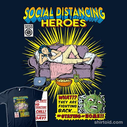 Social Distancing Heroes