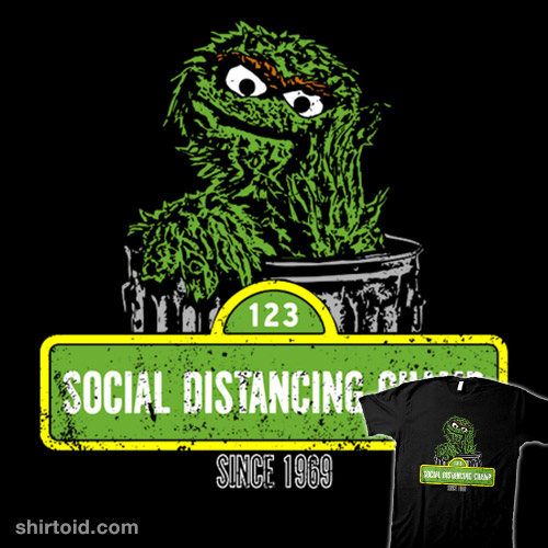 Socially Distant Grouch