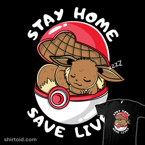 Stay Home Eevee