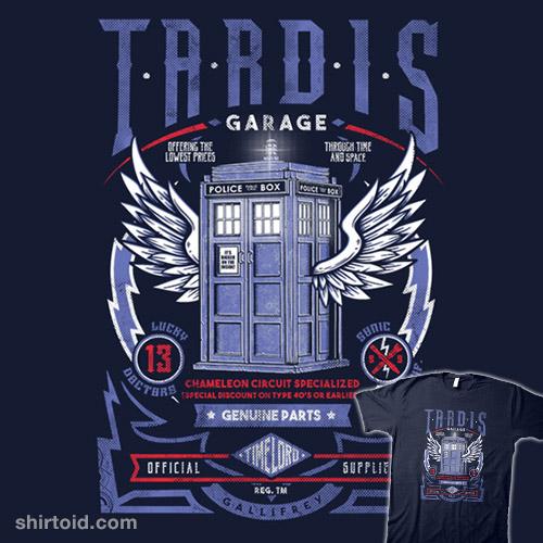 TARDIS Garage