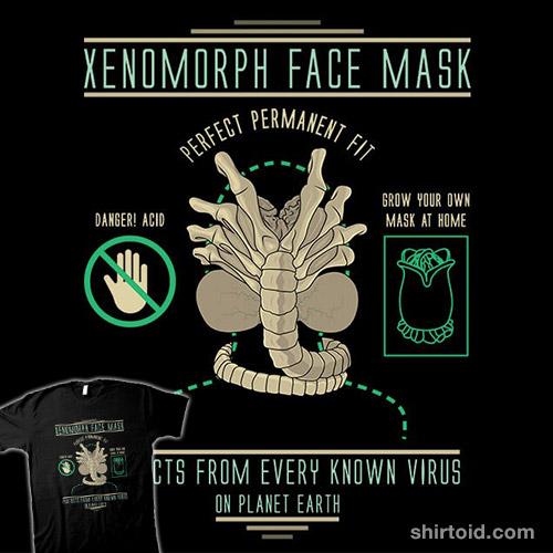 Xenomorph Face Mask