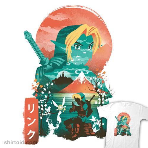Hyrule Hero Ukiyo-e