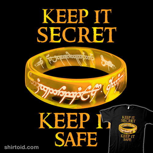 Keep it secret, Keep it safe