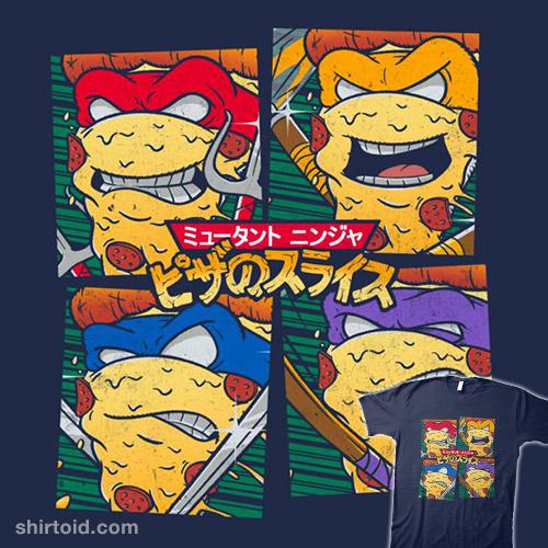 Mutant Ninja Pizza Slices