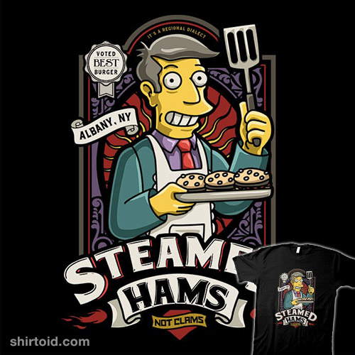 Patented Skinner Burgers