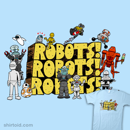 Robots Robots Robots