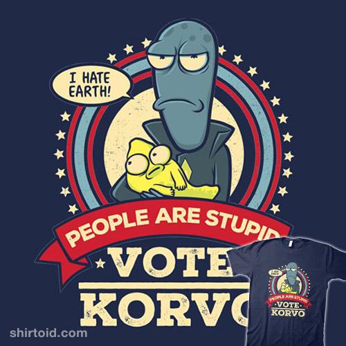 Vote Korvo