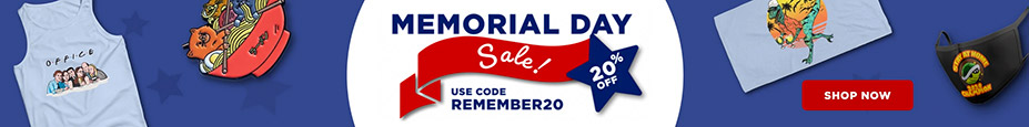 TeeFury Memorial Day Sale – Save 20% with code REMEMBER20