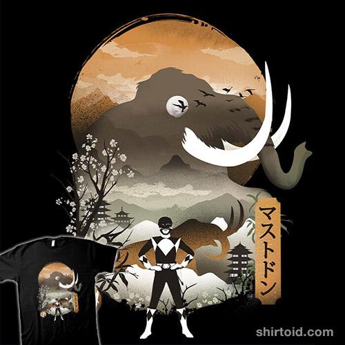 Black Ranger Ukiyo-e