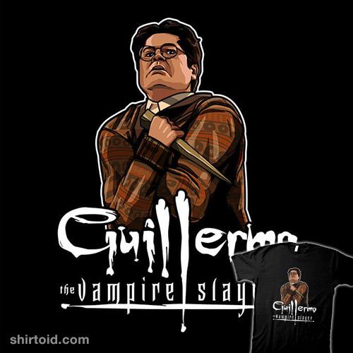 Guillermo the Vampire Slayer