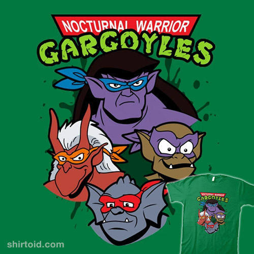 Nocturnal Warrior Gargoyles