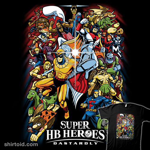Super HB Heroes: Dastardly