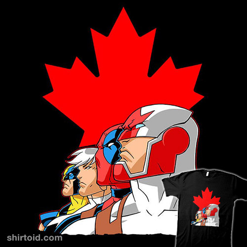 Captain Canuck and Team Canada