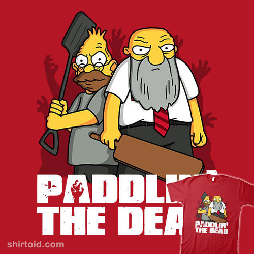Paddlin' The Dead