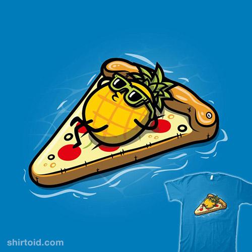 Pineapple Loves Pizza