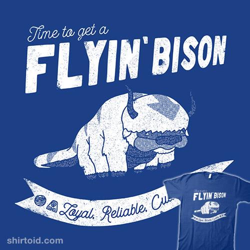 Get a Flyin' Bison
