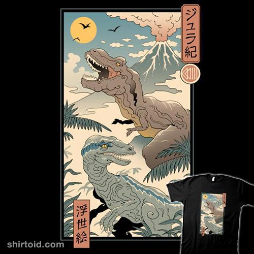 Jurassic Ukiyo-e 2