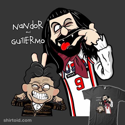 Nandor and Guillermo