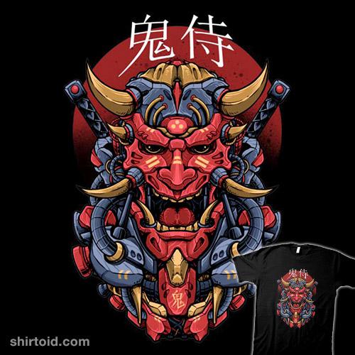 Oni Mecha Samurai