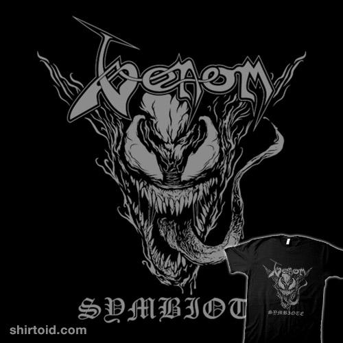 Venom black symbiote