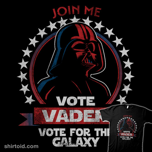 Vote Vader for the Galaxy