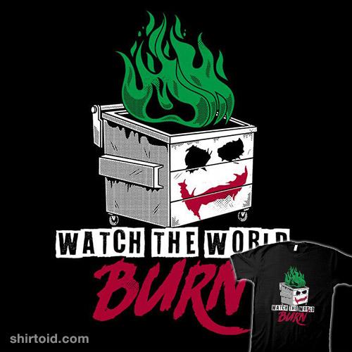 Watch the Dumpster Burn