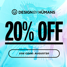 SALE: 20% Off Sitewide at Design By Humans with coupon code AUGUST20