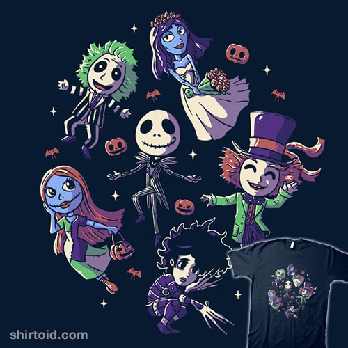 Burton's Halloween