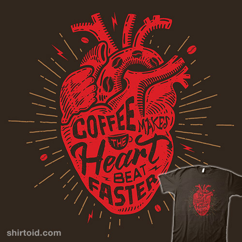 Coffee Makes the Heart Beat Faster