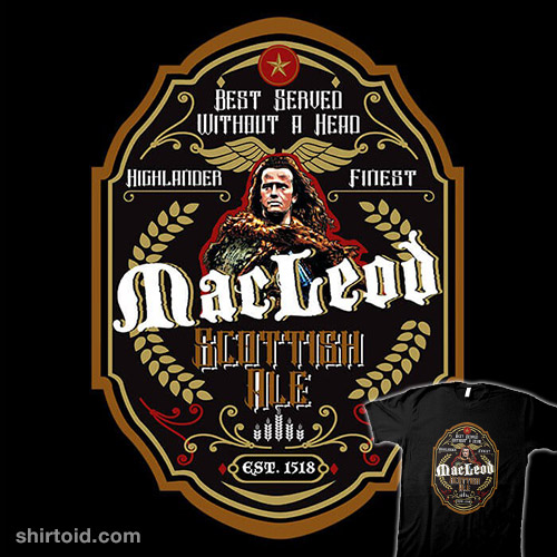 Connor MacLeod Ale