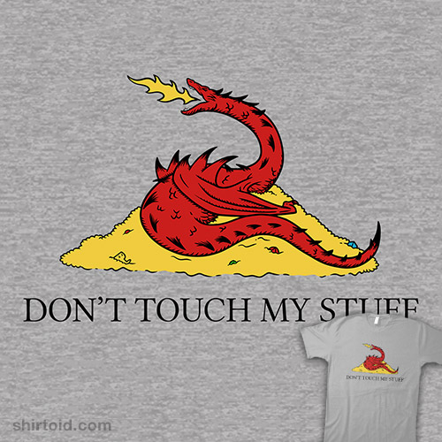 DON'T TOUCH MY STUFF