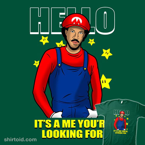 It's A Me You're Looking For