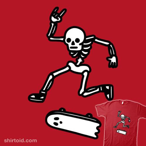 Skateboard Ghost