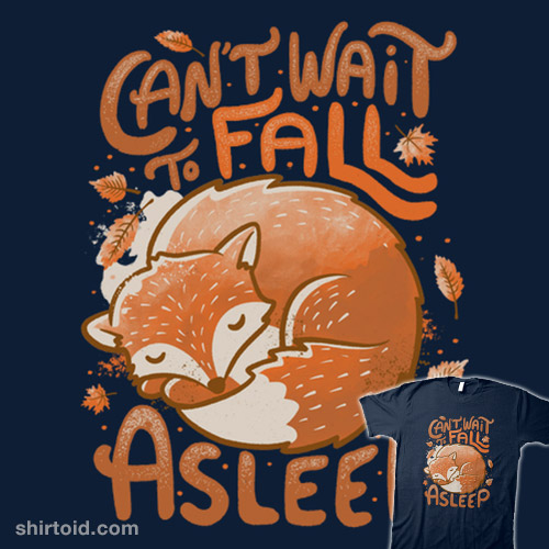 Can't Wait to Fall Asleep