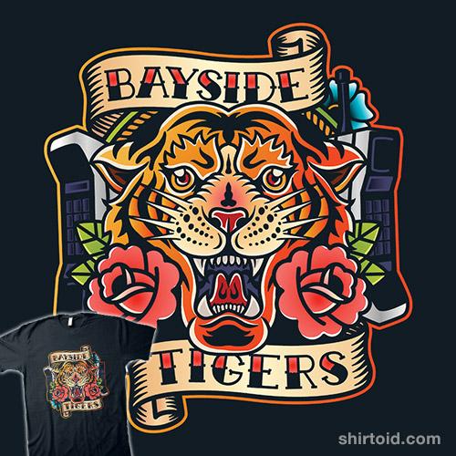 Bayside Tigers Tattoo