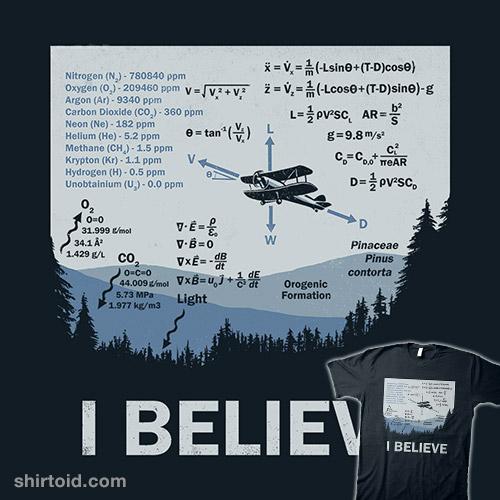I Believe (In Science)