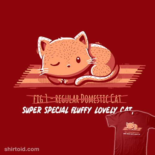 Not a Regular Domestic Cat