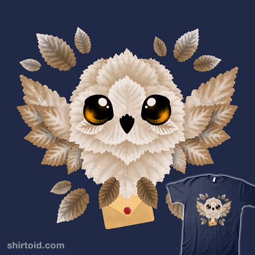 Owl Mail of Leaves