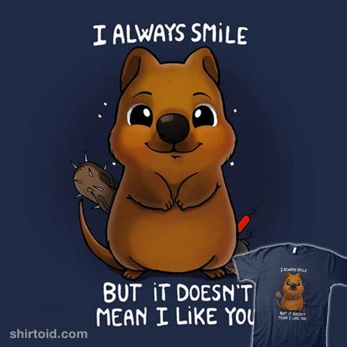 Quokka Smile