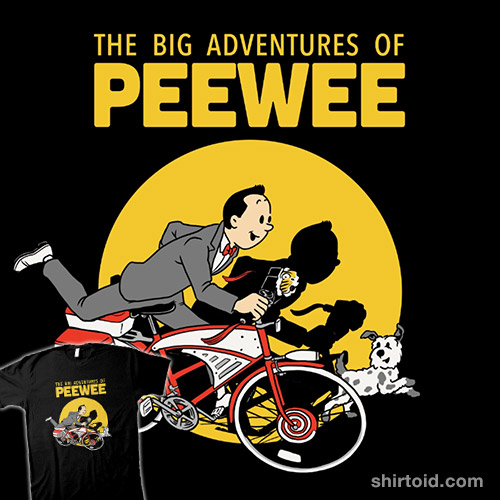 The Big Adventures of Pee Wee