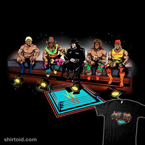 Wrestlers Break
