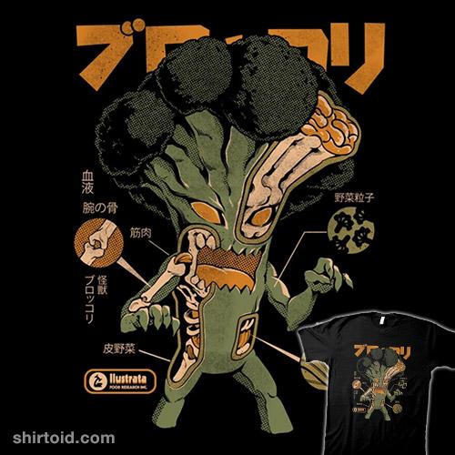 Broccozilla X-Ray