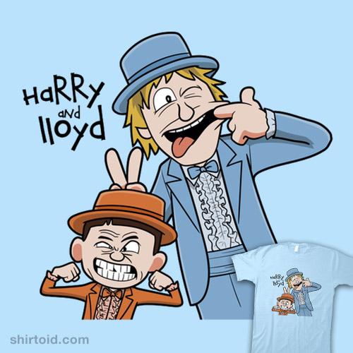 Harry and Lloyd